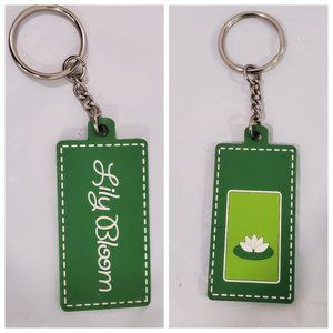 Lily Bloom Keychain Key Fob or Handbag Attachment
